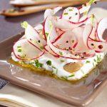 Salade de radis aux amandes