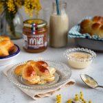 Brioches Fleurs et leur crème de miel