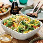 Salade à la mangue et aux carottes